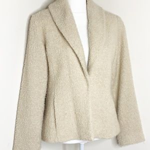 Eileen Fisher Wool Textured Blazer Size Small